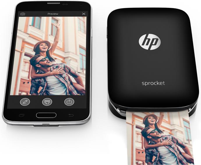 Hp Sprocket una impresora de bolsillo tan pequeña como un Smartphone.