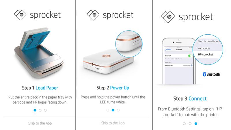En tan solo 3 sencillos pasos puedes imprimir tus fotos deseadas con la Hp Sprocket.