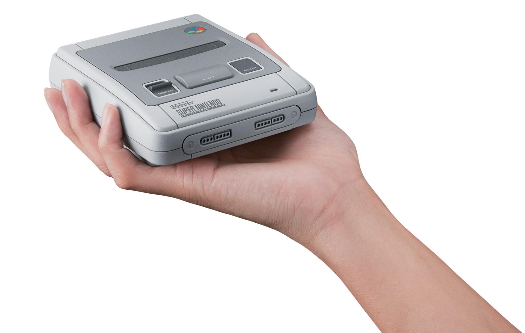 SNES Classic Mini es oficial por parte de Nintendo este mismo año