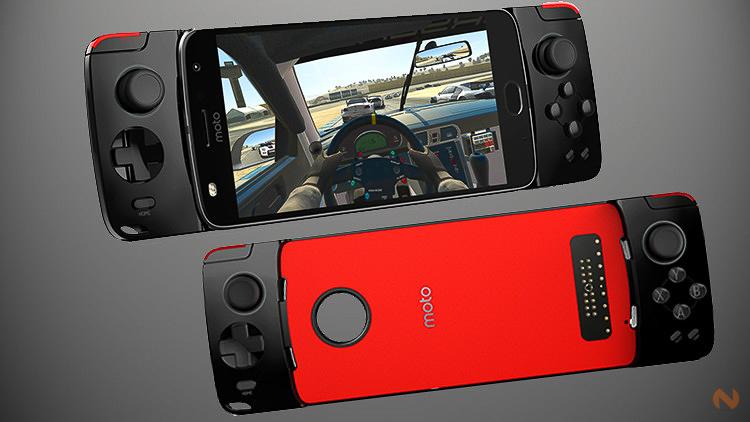 Motorola presenta su Moto Mod Gamepad para el Moto Z2