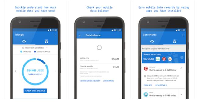 Triangle controla el consumo de tus datos móviles
