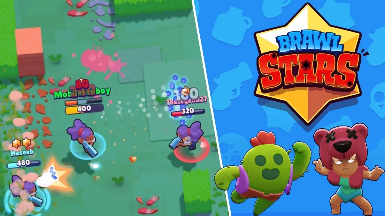 Brawl Stars el nuevo videojuego de Supercell para dispositivos móviles