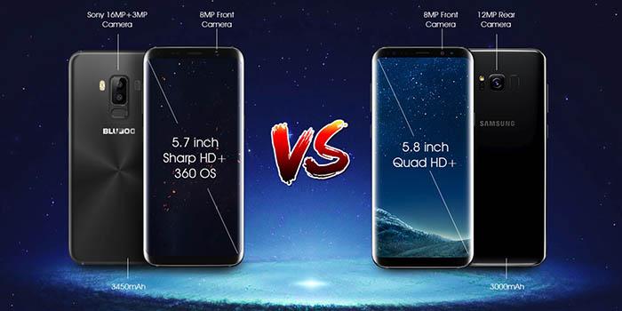 Conoce al Bluboo S8 el mayor rival del Samsung Galaxy S8 con un precio mas que significativo.