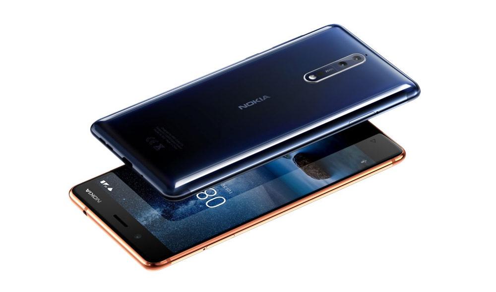 Nokia 8 para el mercado móvil