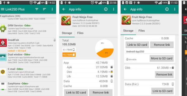 Link2SD una gran herramienta para tu Smartphone y la expansión de su memoria