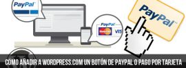 Botón para pagar mediante PayPal
