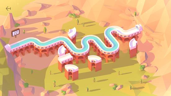 Aqueducts un excelente videojuego para relajarse y ejercitar la mente en dispositivos móviles