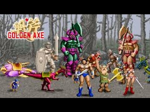 Golden Axe el nuevo título de Sega disponible en la Play Store de Google para Android