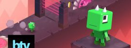 The Pit un grandioso videojuego de genero runner y un diseño estético excelente
