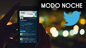 Modo nocturno para Twitter versión web