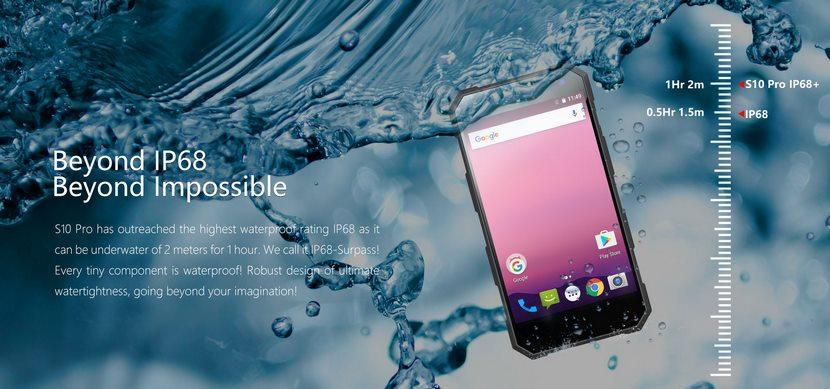 Nomu S10 Pro nuevo Smartphone a prueba de todo
