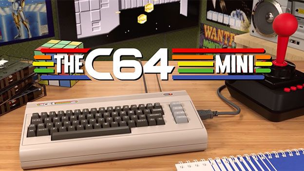 Nuevo C64 o Commodore 64 Mini la consola retro que se une al concepto mini por retro games.
