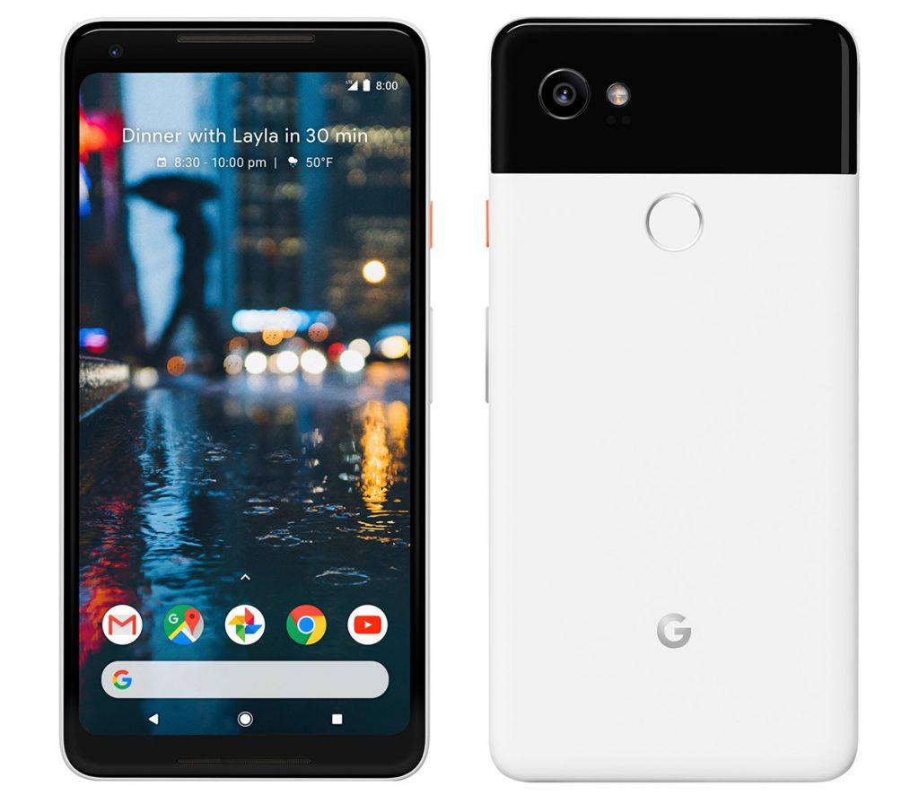 nuevos Google Pixel 2 características