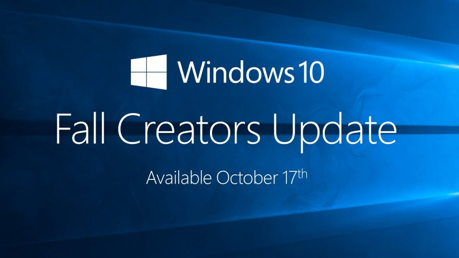 solucionar problemas de Windows 10 Fall Creators Update