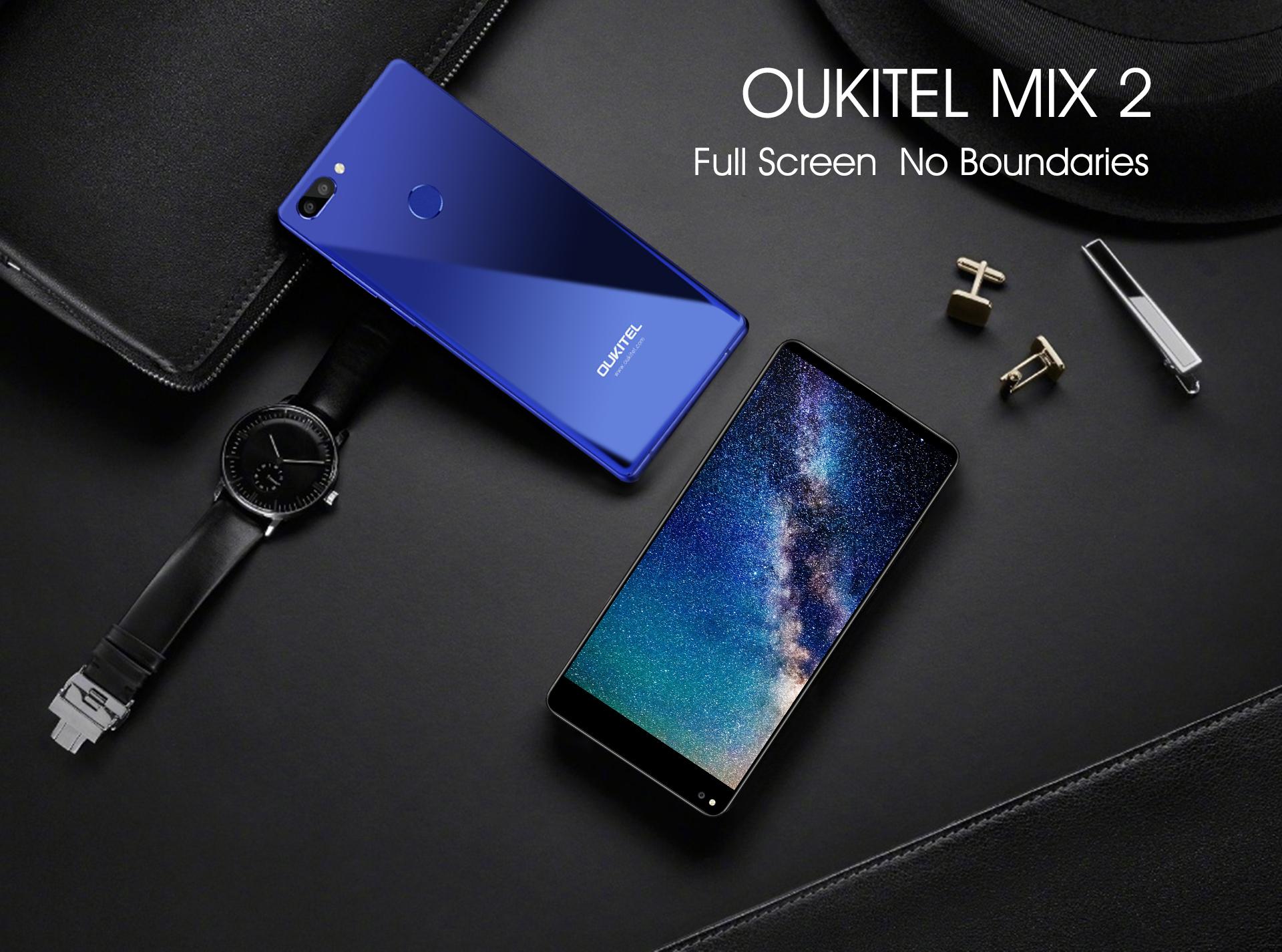 Nuevo Oukitel Mix 2 Smartphone sin bordes llega al mercado móvil