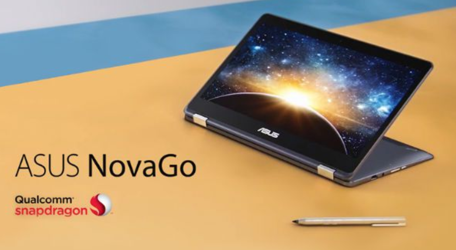 Asus NovaGo es el primer dispositivo 2 en 1 con Snapdragon y Windows 10 para el 2018