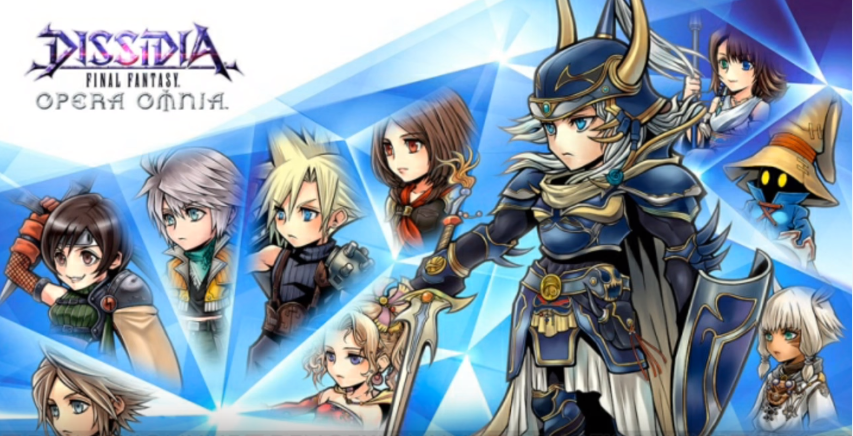 Dissidia Final Fantasy Opera Omnia disponible para móviles