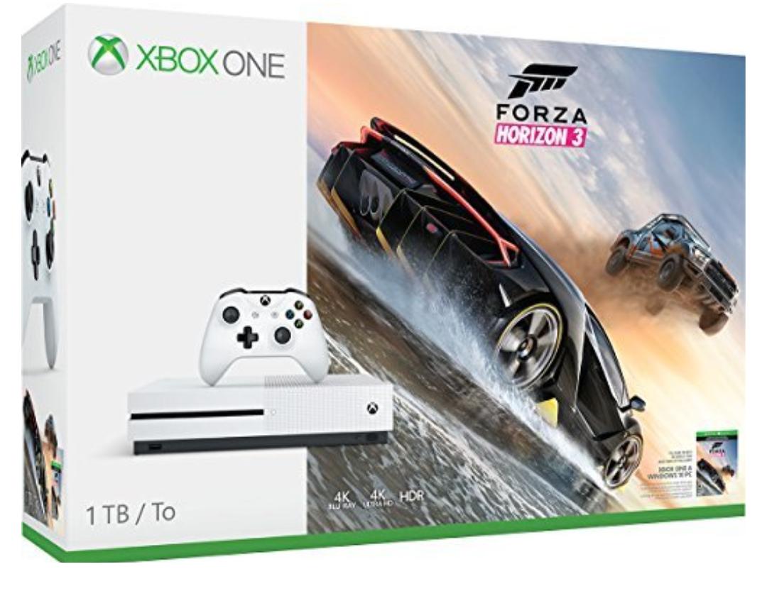 Xbox One S en oferta de Amazon 50$ menos 1TB de memoria y Forza Horizon 3!