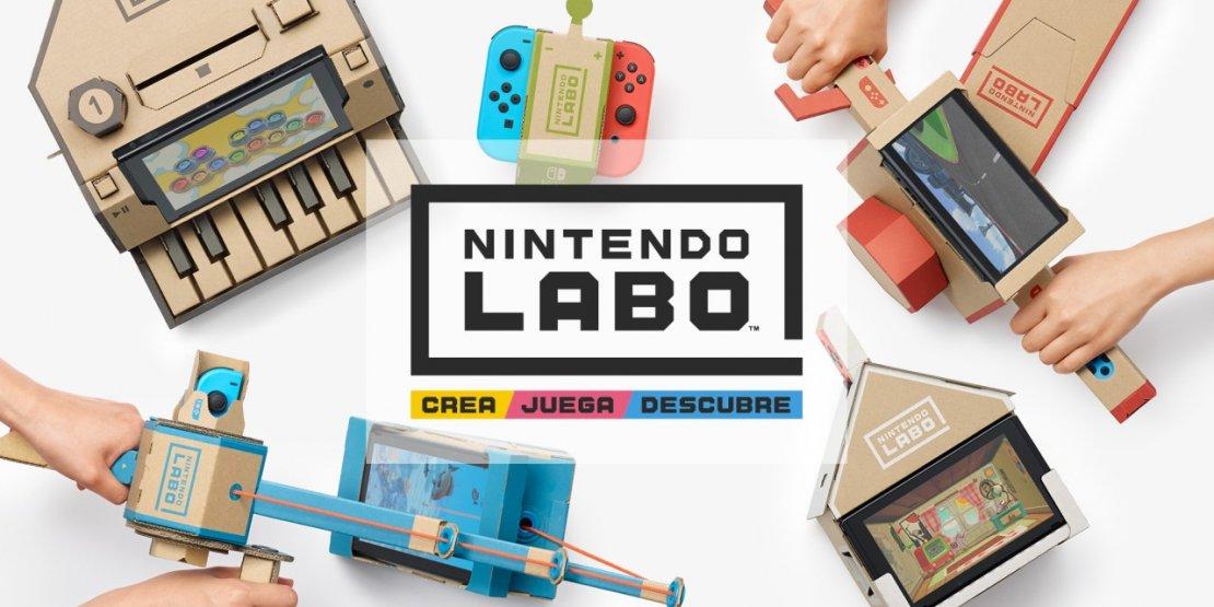 Nintendo LABO la nueva apuesta de la compañía para sus usuarios en oferta!