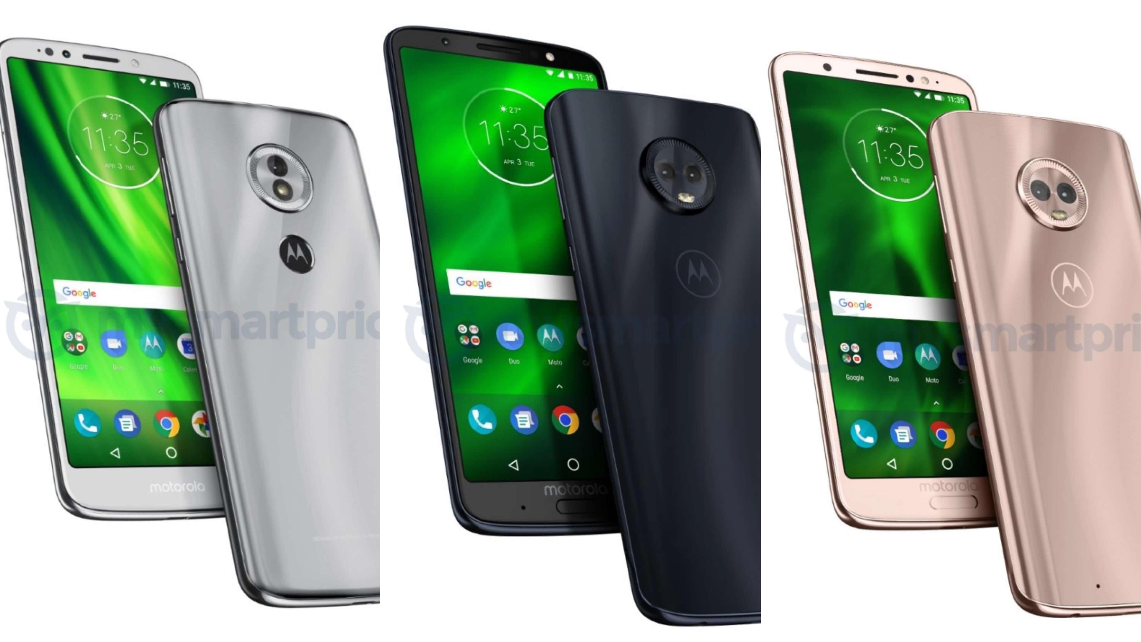 Nueva generación de Motorola Moto G 6 para tan solo un par de meses!
