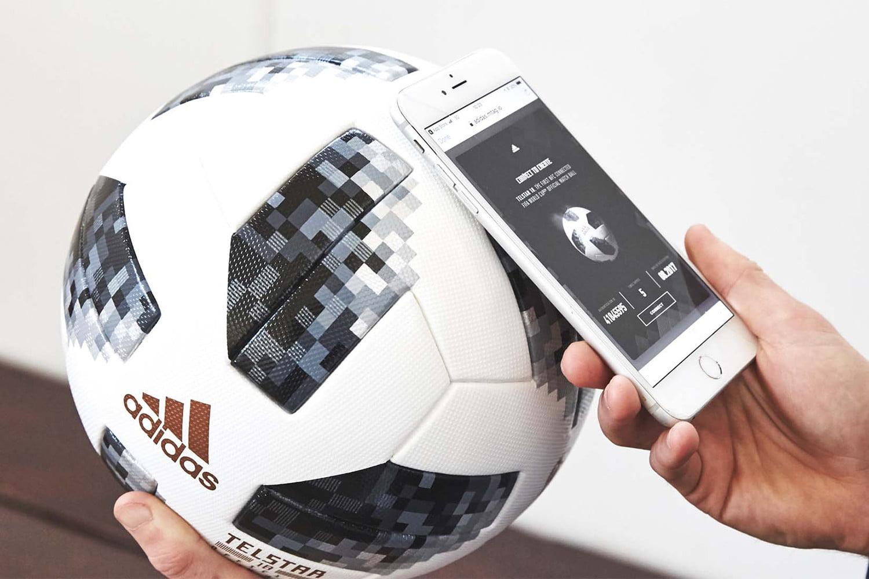 Telstar 18, el balón inteligente del Mundial Rusia 2018.