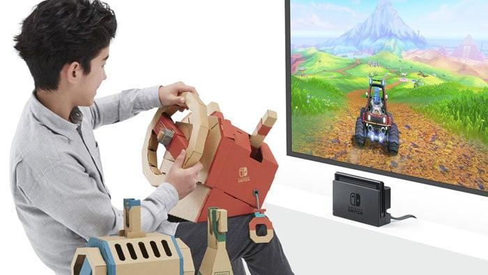 Nintendo Labo, una plataforma educativa para el Nintendo Switch
