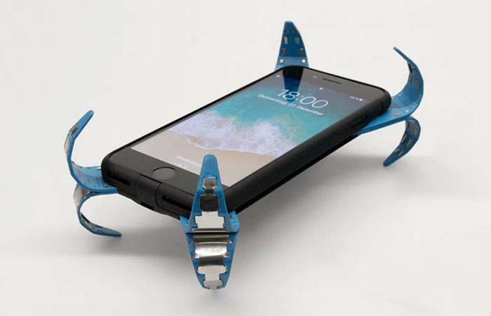 Innovador forro tipo airbag para proteger tu celular contra caidas