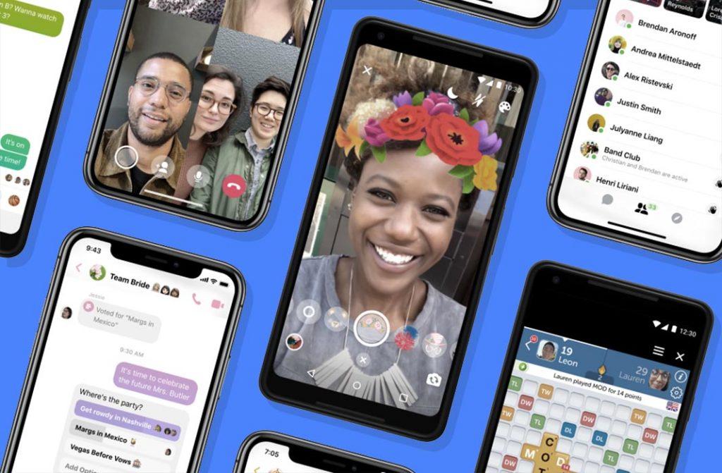 Messenger 4, la nueva version simplificada de Facebook