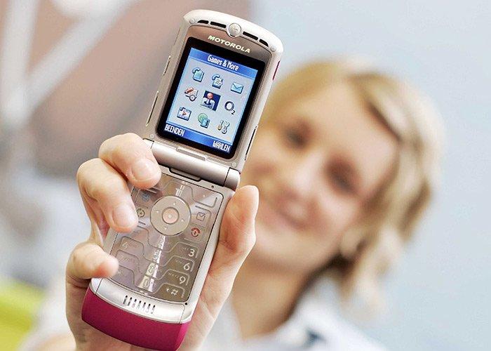 Motorola Razr volverá al mercado después de mas de una decada