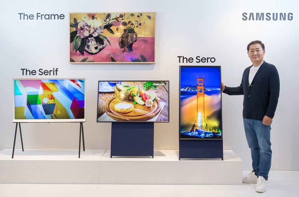 Samsung Sero, el televisor Millenial