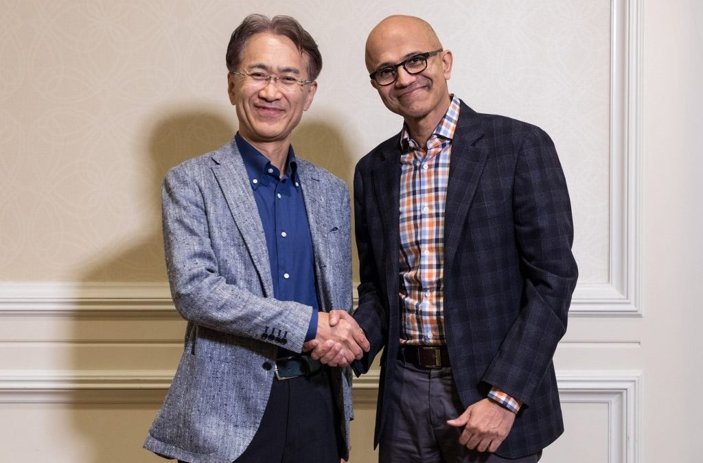 Sony y Microsoft serán aliados en los videojuegos en línea