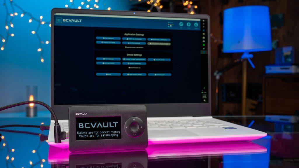 BC Vault, la wallet física para tus criptomonedas
