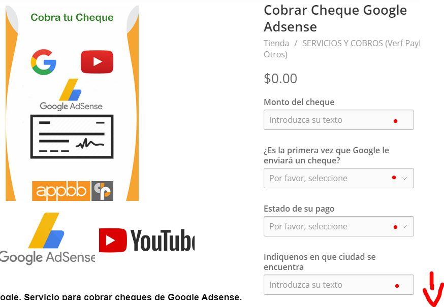Cómo cobrar cheque de Google Adsense 2020