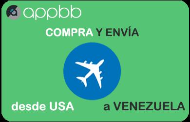 Compra en Estados Unidos o China y envía a Venezuela