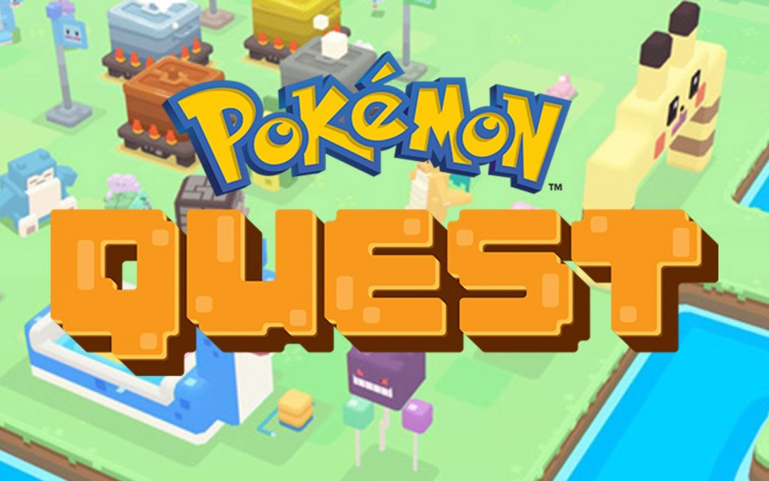 Pokemon Quest, el juego de nintendo Switch ya esta disponible para Android y IOS.